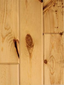 Knotty-Pine-ceiling-and-wall-paneling