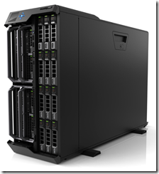 PowerEdge VRTX - Front View with 3.5 Drives