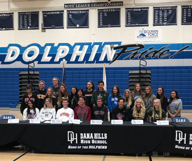 Dana Hills High Wins Four League Championships; Six Athletes Earn Wall of Fame Honor