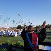 Principal Christensen shares her Teal Town Pride for Aliso Niguel High School