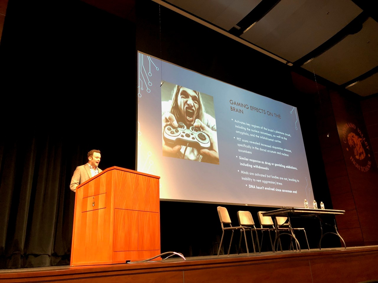 CUSD and Hoag Host First Session of Speaker Series with Gaming, Social Media and Mental Wellness Discussion