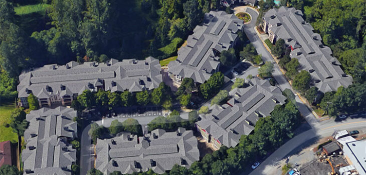 This condo project in Kenmore provided roofing jobs in WA