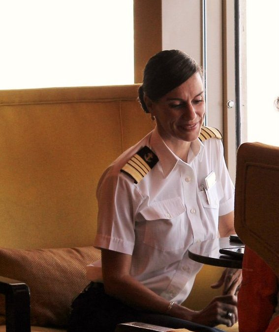 Behind the Scenes: Interview with Celebrity's Captain Kate McCue