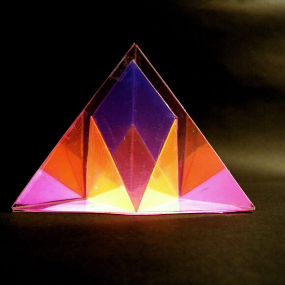 Chestahedron as a transformation of a tetrahedron