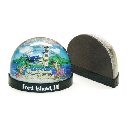 Snow Globe with Magnet
