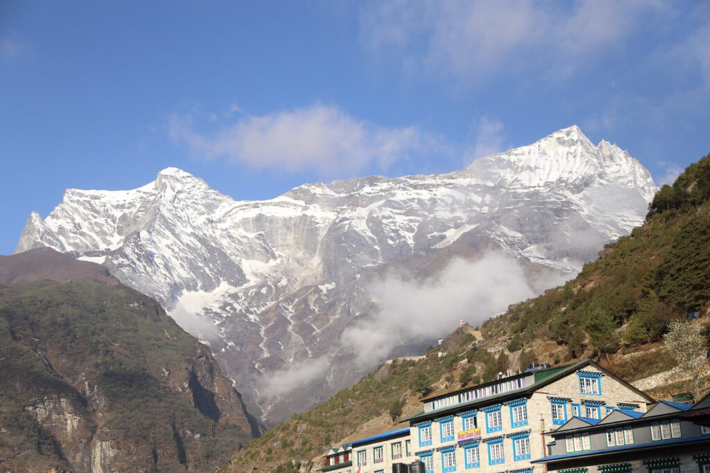 On the way to Everest Base Camp