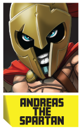 andreas the spartan
