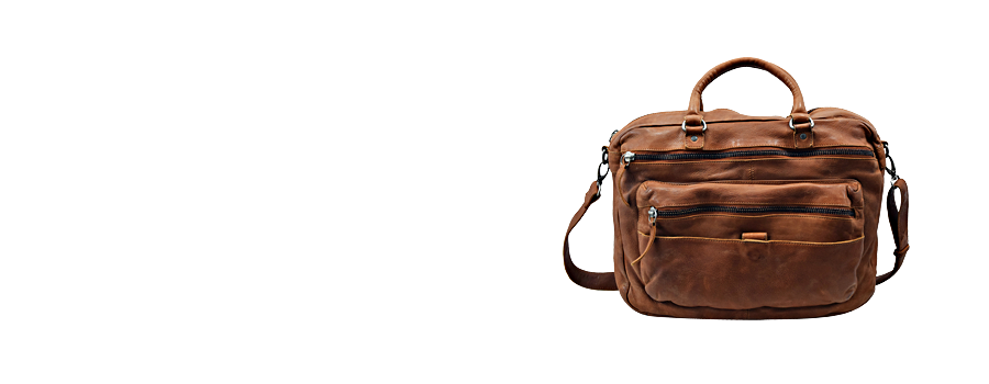 Washed Leather bag exporter
