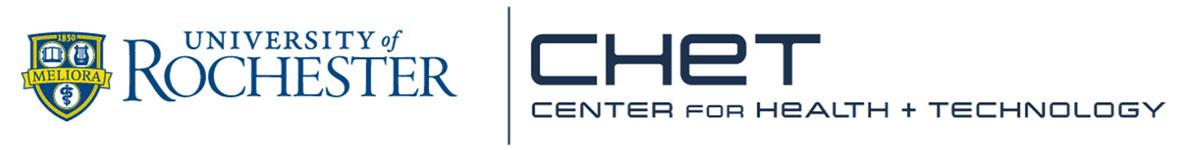 Center for Health + Technology, University of Rochester