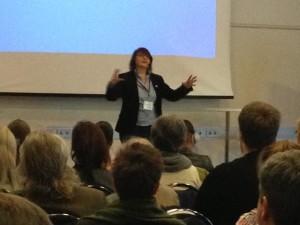 Duke mbajtur trajnim te biznesit ne internet per 135 nderrmares dhe perfaqesues te Nuskinit nga e gjithe Suedia, Janar 2013
