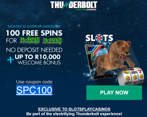 thunderbolt casino no deposit bonus codes 2019