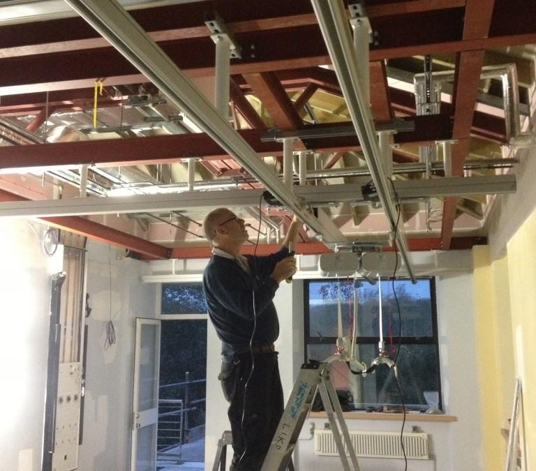 C Franklin ltd hoist installation.