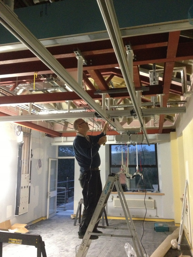 C Franklin ltd hoist installation.
