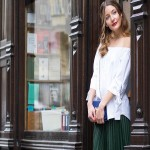 30 Classy And Casual Pleated Skirts Outfits