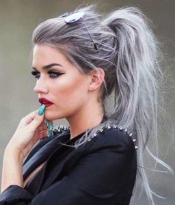20 Awesome Messy Ponytail Hairstyle Ideas