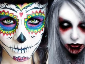 20 Scary Halloween Ghost Make Up Ideas