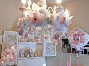 25 Shabby Chic Christmas Decoration Ideas