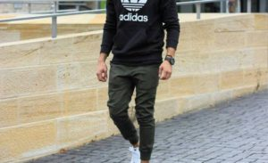 30 Stunning Men Joggers Style Ideas