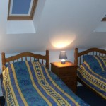 The Anchorage blue suite upstairs