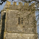 Carew Cheriton church tower