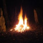 Fire in the menhirs.