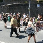 Hubba's vikings at Milford Haven carnival 2011