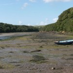 Sandy Haven Pill at low tide