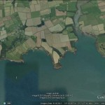 Google Earth image of Sandy Haven area