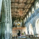 Interior of St.David's cathedral