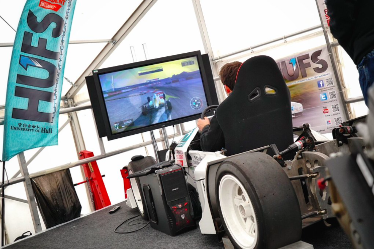 Our simulator in action!