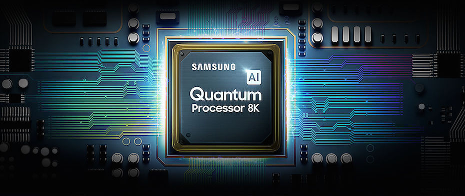 Samsung's new 8K QLED TVs come with the company's Quantum Processor 8K