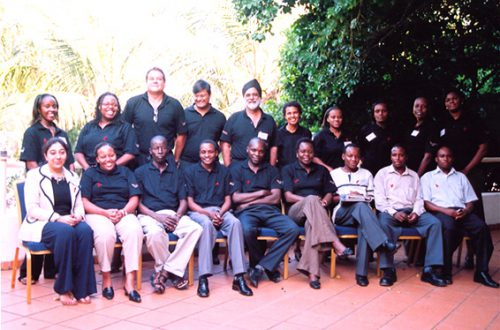 HIV at the workplace - Aureos group workshop held in Mombasa