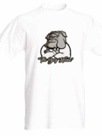 Doghaus White Bulldog T-shirt