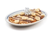 Banana Crepes with Nutella