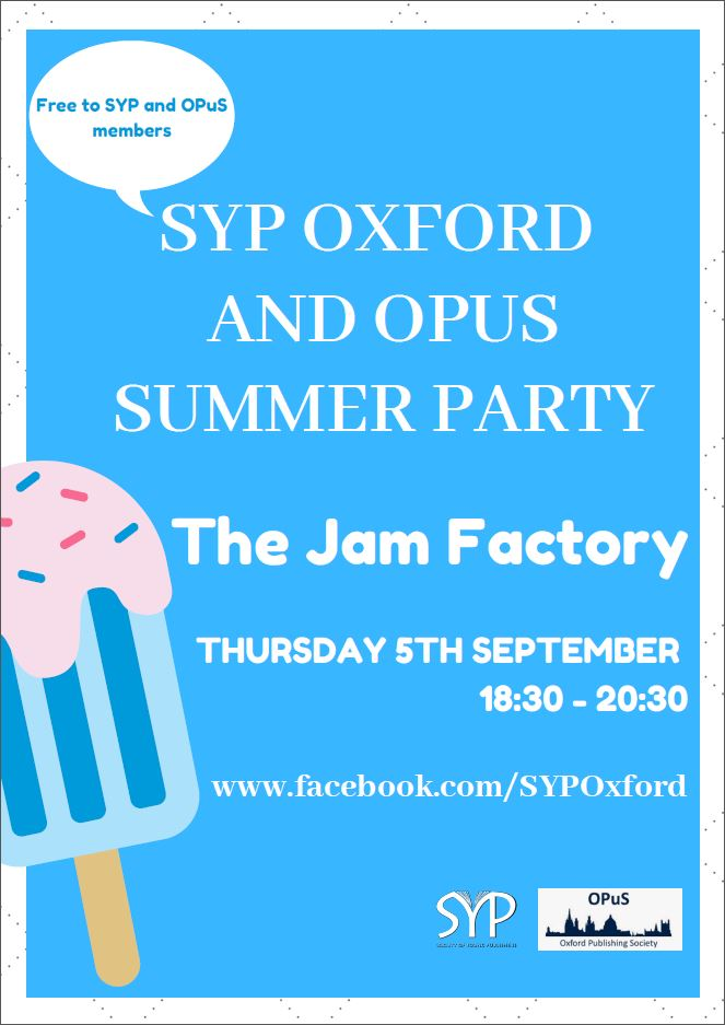SYP Oxford and OPUS Summer Party