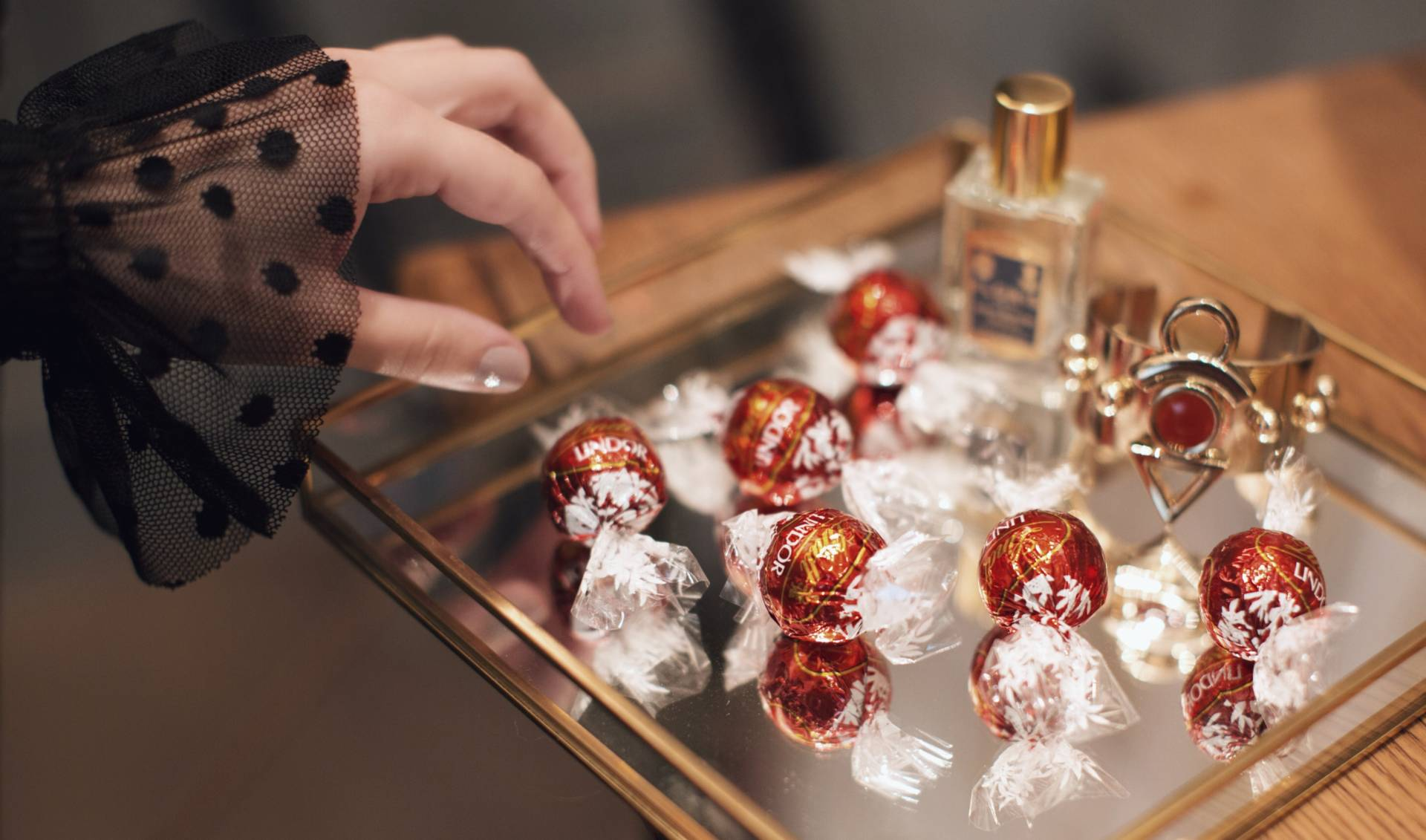 A moment of bliss with Lindor