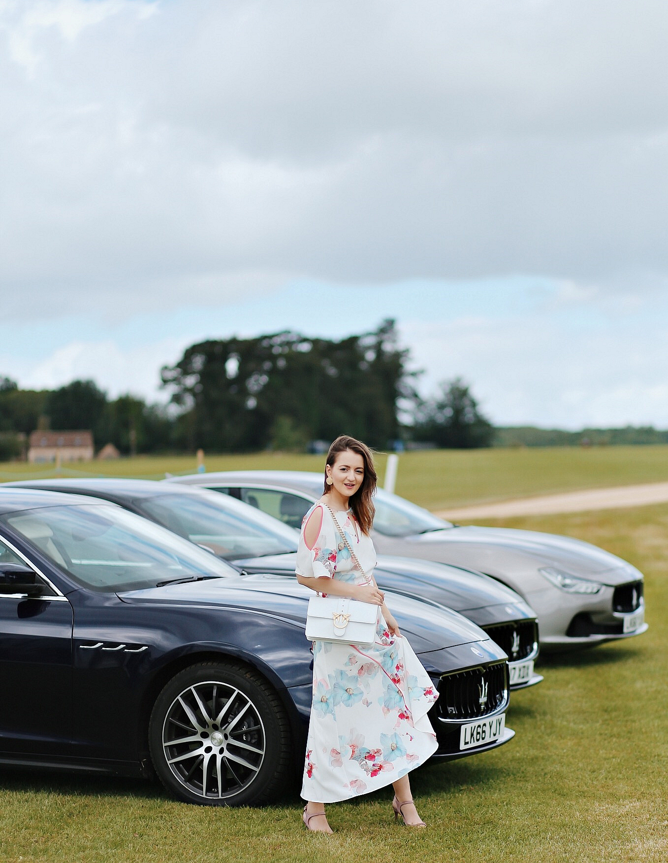 Attending the Maserati Royal Charity Polo Trophy