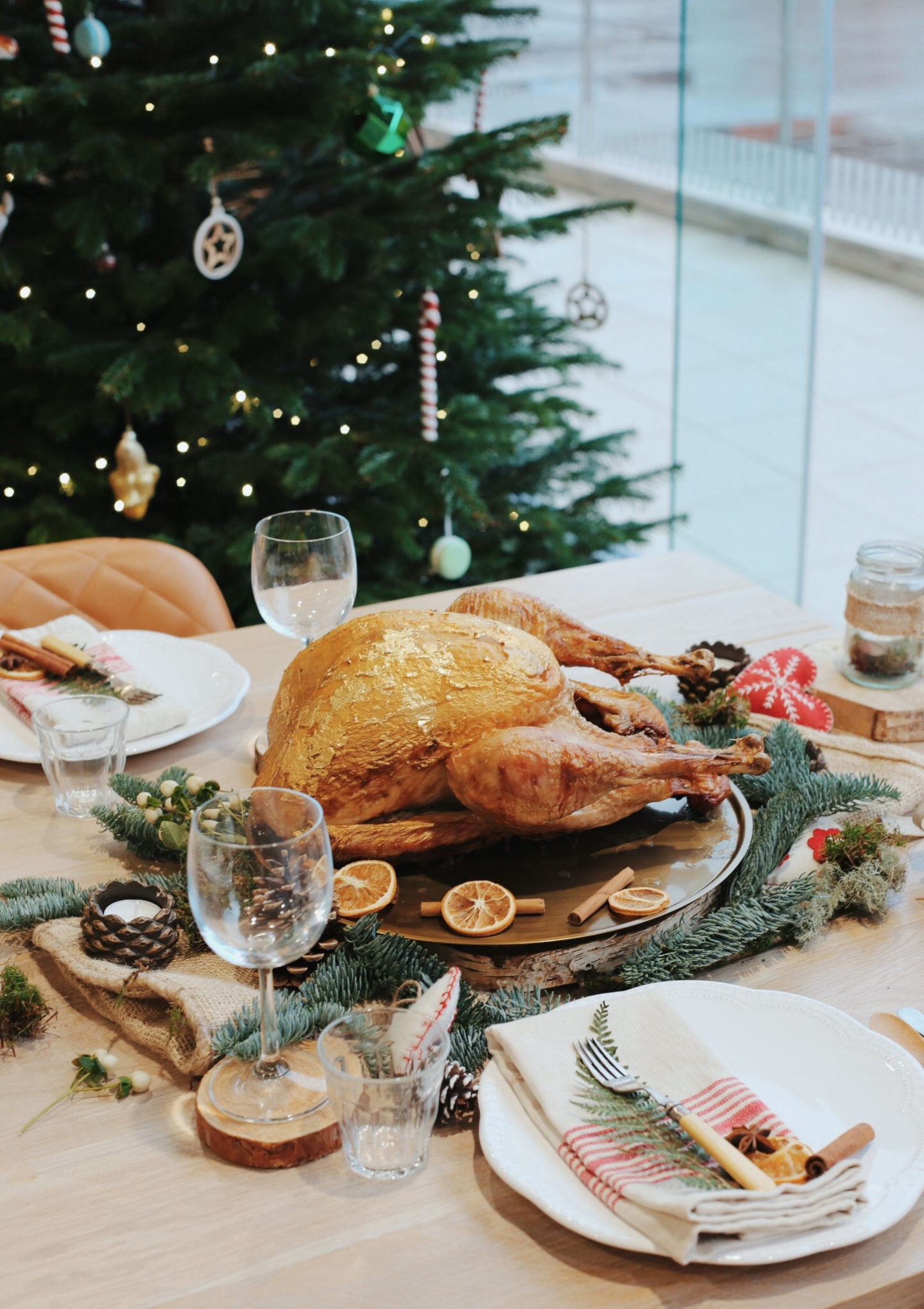 Getting into the festive spirit with Iceland Christmas Food - Luxury Gilded Turkey with a Mustard and Honey Glaze