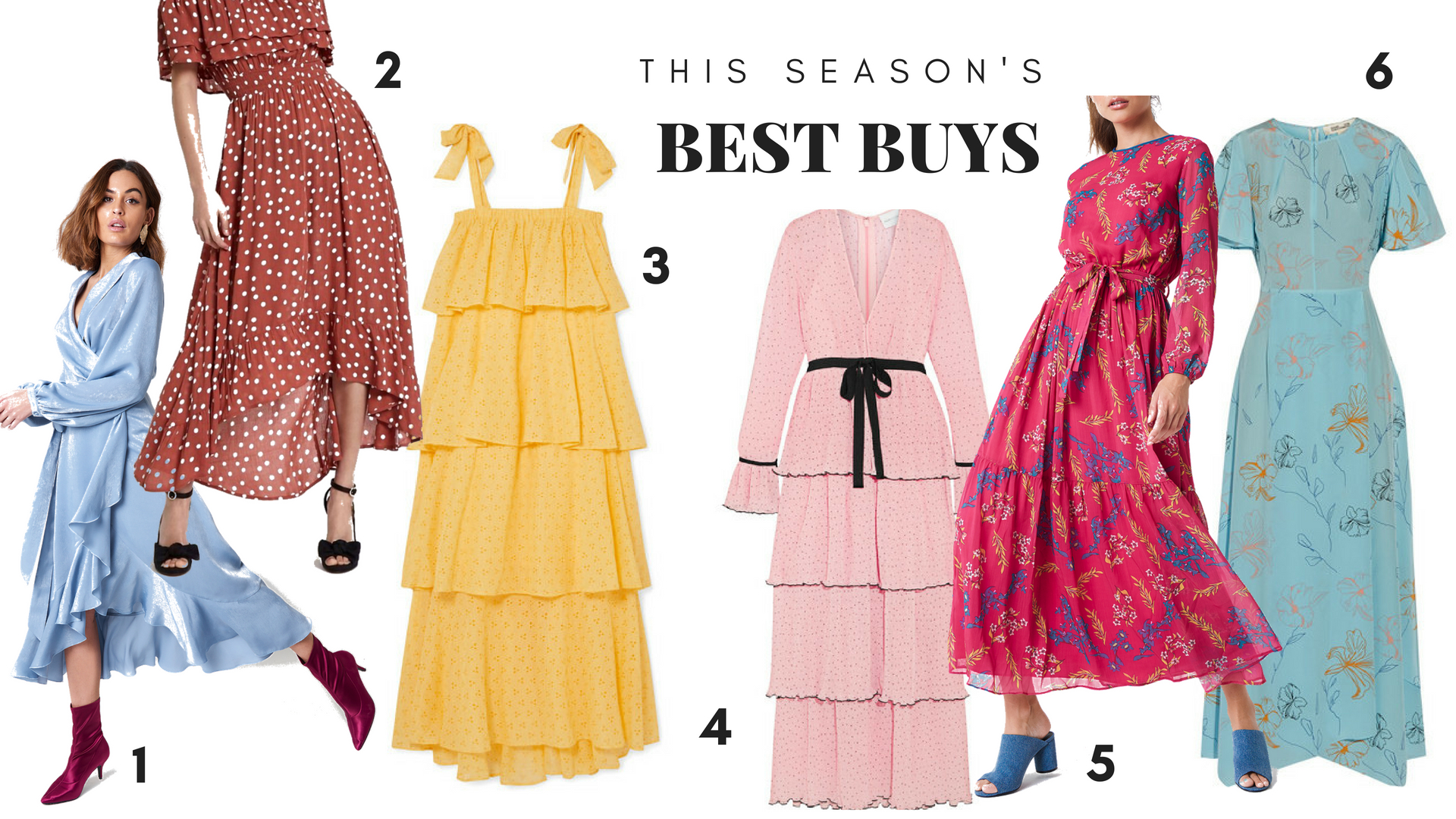 Maxi dresses - this season's best buys