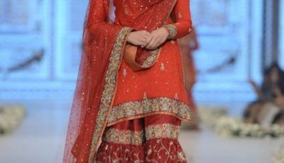Bridal Sharara Designs For Indian & Pakistani Women