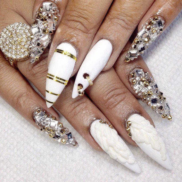 Wedding Nail Ideas For Summer: Bridal Nail Designs For Summer-Autumn Season