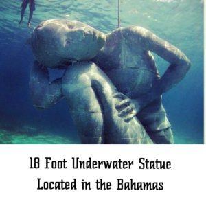 18 Foot Underwater Statue