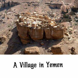 A village in Yemen
