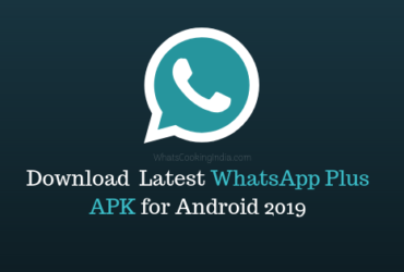Download Latest whatsapp plus apk for android 2019