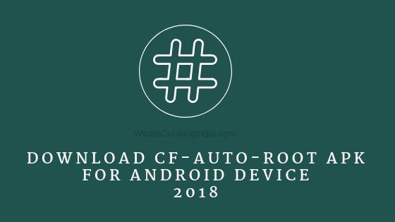 Download CF Auto Root APK