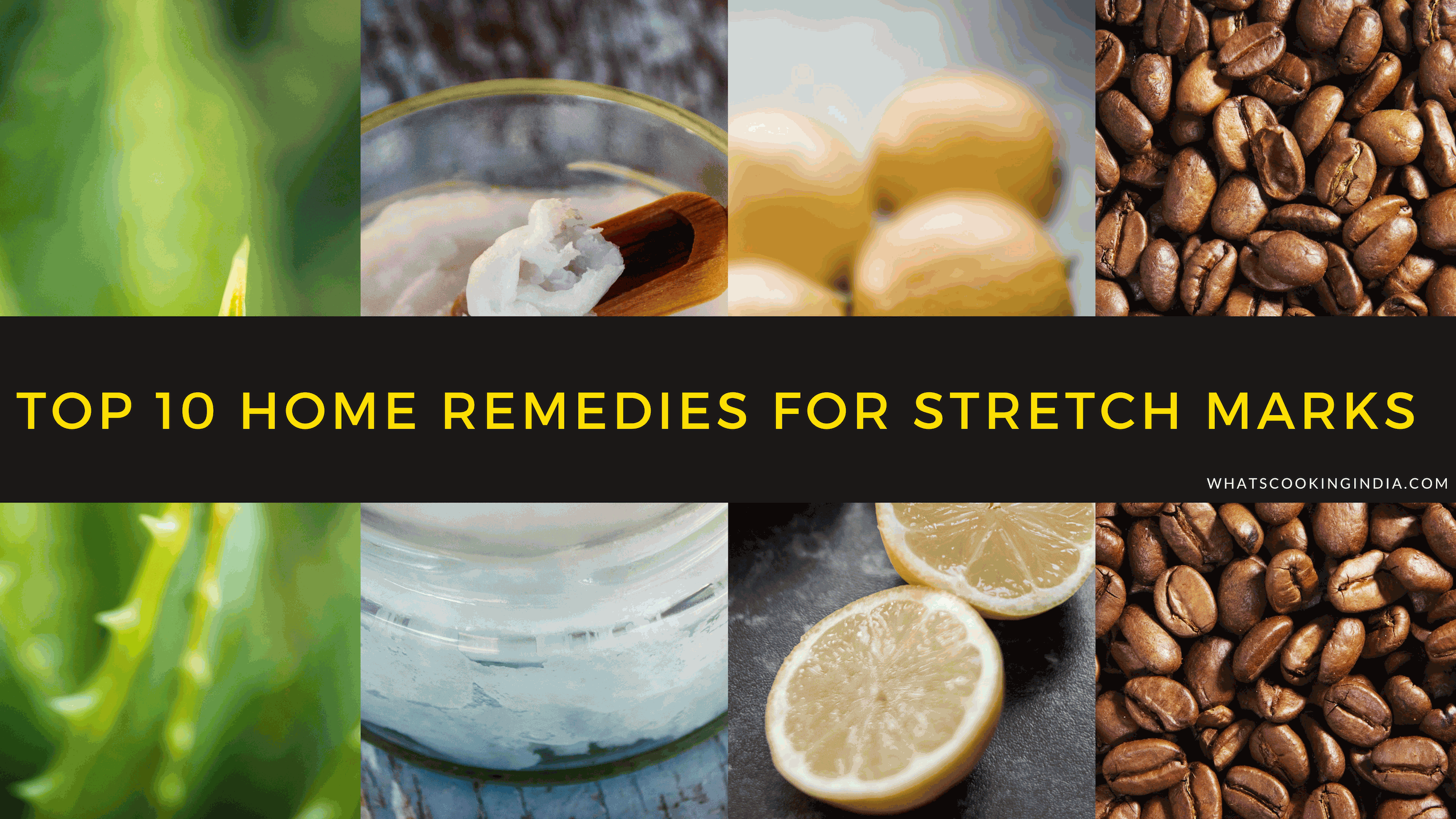 Home Remedies For Stretch Marks