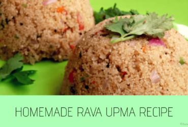 Rava Upma Recipe