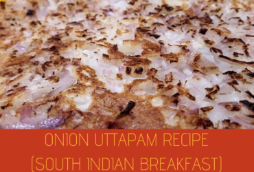 Onion Uttapam recipe