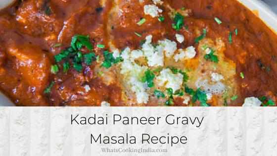 Kadai Paneer Gravy