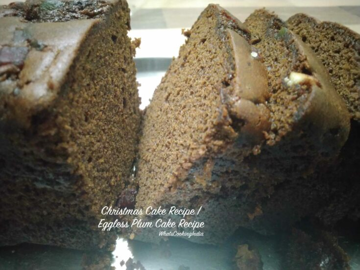 Kerala Plum Cake Recipe | Christmas Plum Cake